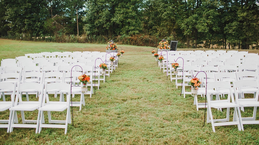 Field Ceremony at Mountain Run Winery