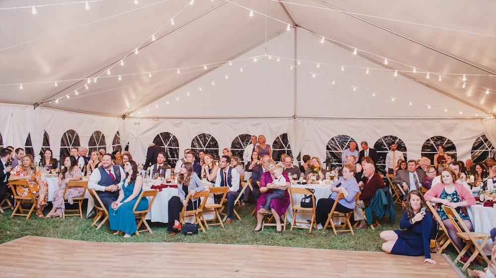 Field Reception at Mountain Run Winery