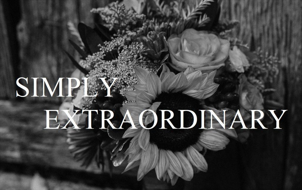 Simply Extraordinary