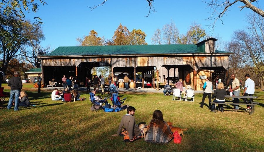 Music event at Mountain Run Winery