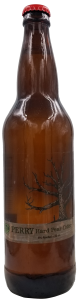 Perry cider bottle